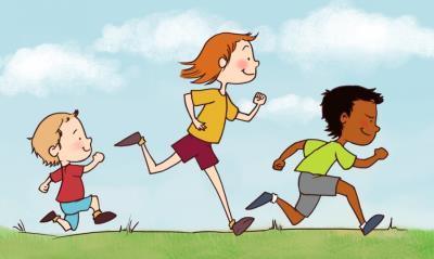 Bilderesultat for barn løper